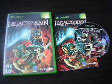 Microsoft Xbox complete in case Legacy of Kain Defiance tested