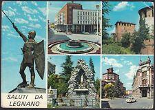 AA4961 Milano - Provincia - Saluti da Legnano - Vedute - Cartolina - Postcard