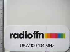 Aufkleber Sticker Radio FFN (3836)