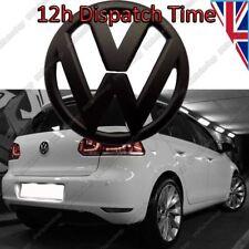 NEUF VOLKSWAGEN GOLF VW MK6 VI arrière noir BADGE mat logo emblème coffre 110mm