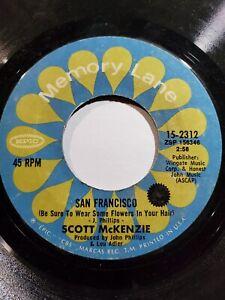 Scott Mckenzie - San Francisco / Like An Old Time Movie- Memory Lane VG F47