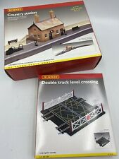 R8000 Hornby 00 Gauge Model Railway Country Station Building Kit In VGC