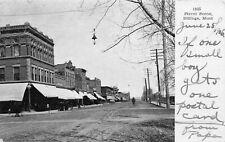 # M3184  BILLINGS, MT.  POSTCARD,  STREET SCENE