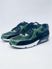 Nike Air Max 90 QS Green Python Black SnakeSkin Mens Size 9 (CD0916-001)