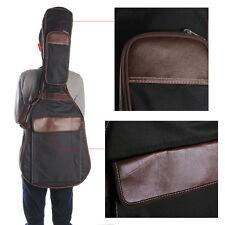 "39/40/41""2 strap Folk Acoustic Guitar Gig Bag Backpack Case PU Padded Waterproof"