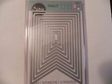 Sizzix Framelits Dies ~ Banners #3 - 561152