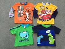 Baby Boy Clothes Bundle T-Shirts/Long Sleeve (Size 6-12 Months)