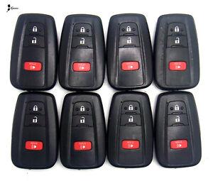 Lot x8 TESTED OEM Toyota Keyless Entry Smartkey Remote Used HYQ14FBC