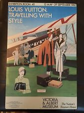 FASHION ADVERTISING POSTER - LOUIS VUITTON - TRAVELLING WITH STYLE razzia/art
