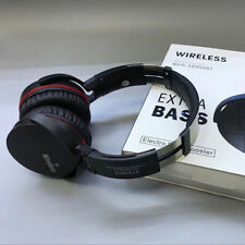 Extra Bass Wireless Bluetooth Headset Headphones +Mic FM for Smartphones iPad PC