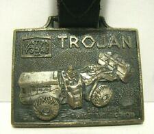 Trojan Eaton Yale & Towne 8000 Wheel Loader Advertising Pocket Watch Fob Leavens