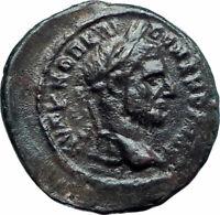MACRINUS 217D Authentic Ancient Genuine Nicopolis ad Istrum Roman Coin i78464