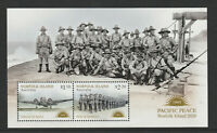 Australia - Norfolk Island 2020 : Peace in the Pacific - Minisheet. MNH