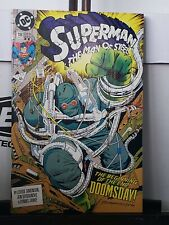 Superman: The Man of Steel #18 CGC NM/M 9.8 White Pages 1st Doomsday! 2nd Print!