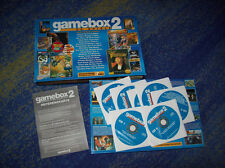 50 Game Box PC classico dos babarian Earthworm Jim l'ufficio Lega Anseatica, ecc.