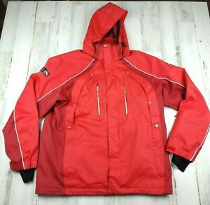 Phenix Men's  Skiing Snowboarding Outdoor Jacket Goggle Pocket  With Hood Size L