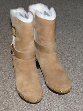 Brand New UGG Womens BREA Boots in Chesnut UK Size 4 Euro Size 37