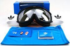 New Adidas Nimick Black Mat Ski & Snowboarding Goggles W/ Dust Bag Ah81