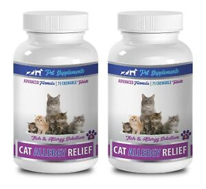 cat dry skin food - CAT ALLERGY RELIEF - ADVANCED 2B- cat skin and itch relief