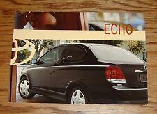 Original 2003 Toyota Echo Postcard 03