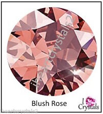 BLUSH ROSE 36 pieces Swarovski 5mm 20ss Crystal Flatback Rhinestones 2088 Xirius