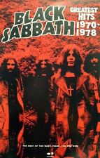 BLACK SABBATH 2006 best of OZZY OSBOURNE years promotional poster ~MINT cond.~!!