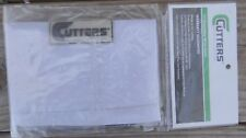 Cutters 097 Triple Playmaker Wrist Coach White With Black Letters 20 - 100 Plays
