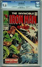 IRON MAN 4 CGC 9.6 RARE in HIGH GRADE Silver Age MARVEL COMICS 1968