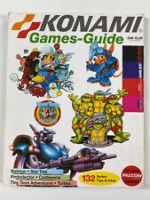 Konami Games Guide Sega Mega Drive Nintendo NES Gameboy SNES