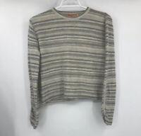 Kuna Womens Long Sleeve Crew Neck Pullover Sweater Multicolor Size Medium