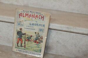 Almanach de l'avenir  1917 (voir photos et description)