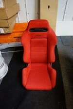 Single Integra Civic Type R DC2 EK9 OEM RED Recaro Seat in Excellent Condition