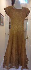 1940's Lace Party Dress, Sans Belt