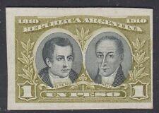 ARGENTINA, 1910. Moreno-Paso 172, Trial Color