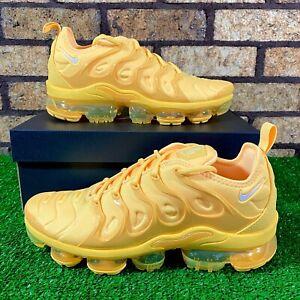 💛 Nike Air VaporMax Plus (DJ5993-800) 'Citron Yellow/Orange' Women's Shoes 💛