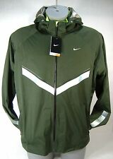 New Mens XL NIKE Vapor WR Forest Green Premium Running Hoody Jacket $300