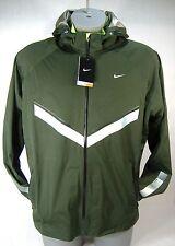 New Mens XL NIKE Vapor WR Forest Green Premium Running Hoody Jacket $300