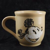 Walt Disney Park Mickey Mouse Coffee Mug Brown Tea Cup Store Exclusive