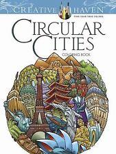 CIRCULAR CITIES COLORING BOOK - BODO, DAVID/ BODO, JEANA - NEW PAPERBACK BOOK