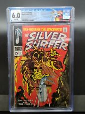 Silver Surfer 3 CGC 6.0 1st Mephisto App Key Grail Stan Lee Story, Buscemi Cover