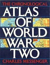 Chronological Atlas of World War II Hardcover Charles Messenger