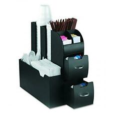 Mind Condiment Coffee Reader and Organizer Caddy Accessories, Black