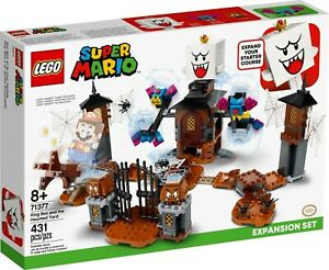Lego Super Mario 71377 King Boo and the Haunted Yard New - (Free Shipping)