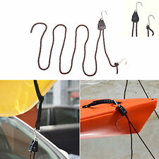 "8' x 3/8"" Rope Lock Pulley Canoe Bow Stern Tie-Down Pull Ratchet  ("