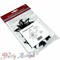 Patchwork Cutters-Christmas- Poinsettia Ivy and Holly- Cake Decorating Equipment