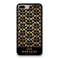 COACH NEW YORK GOLD iPhone 4/4S 5/5S/SE 5C 6/6S 7 8 Plus X Case Cover