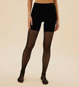 Womens Sexy Shapewear Slimming Fishnet Tights Stockings Black Small Medium Large