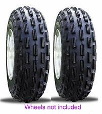 (2) 22x8-10 Kenda Front Max Tires For Polaris/Kawasaki/Suzuki/Yamaha 2WD ATV's