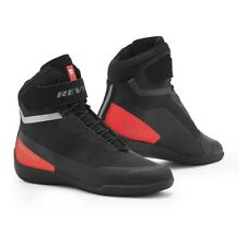 Motorcycle Boots Shoes REV'IT Mission black red - size 43