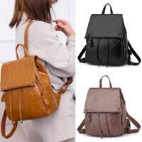 Women's Backpack Handbag Travel Satchel Girls Soft Leather Rucksack Shoulder Bag